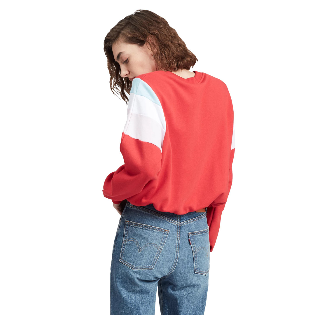 Levi's® Florence Women Crew Baby Tab - Brilliant Red (77711-0002)