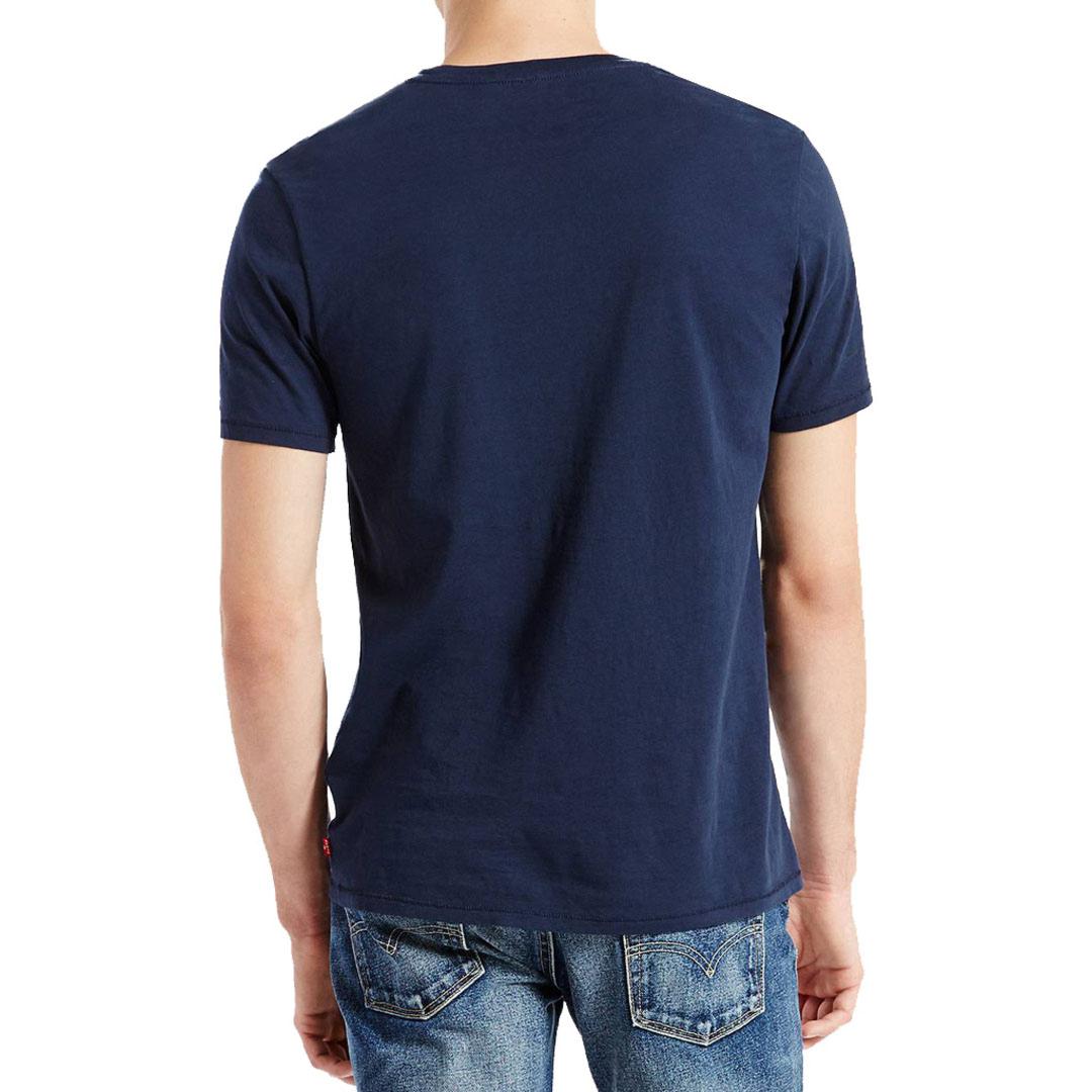 Levi's® Μπλουζάκι Ανδρικό Λογότυπο - Μπλε (17783-0139)