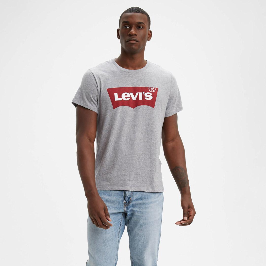 Levi's® Graphic Logo Tee - Heather Grey (17783-0138)