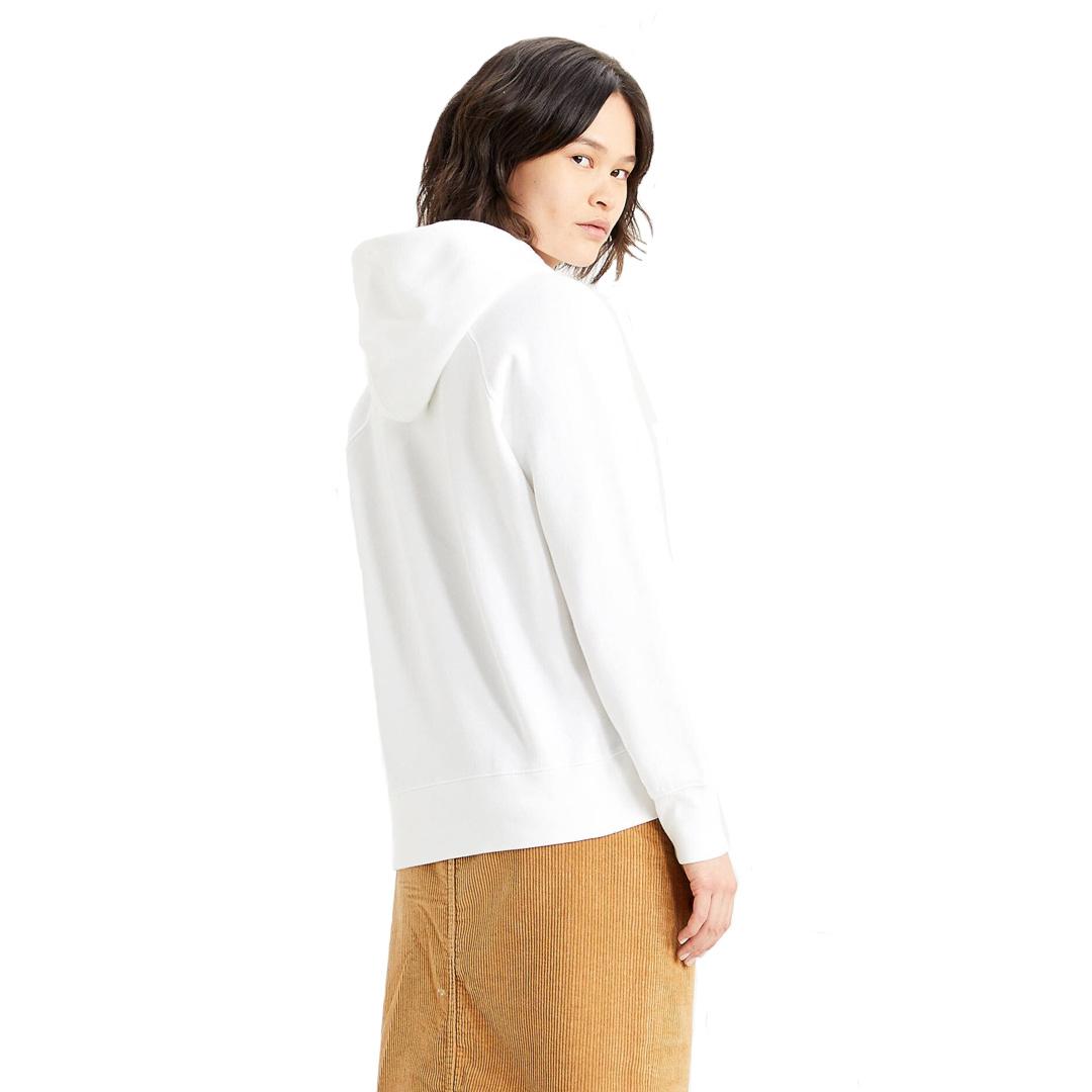 Levi's® Graphic Sport Women Hoodie Split Serif Logo - White (35946-0240)
