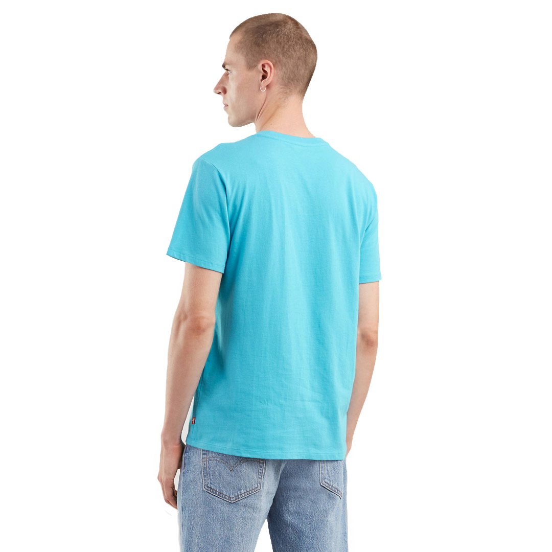 Levi's® Housemark Graphic Men Tee - Norse Blue (22489-0155)