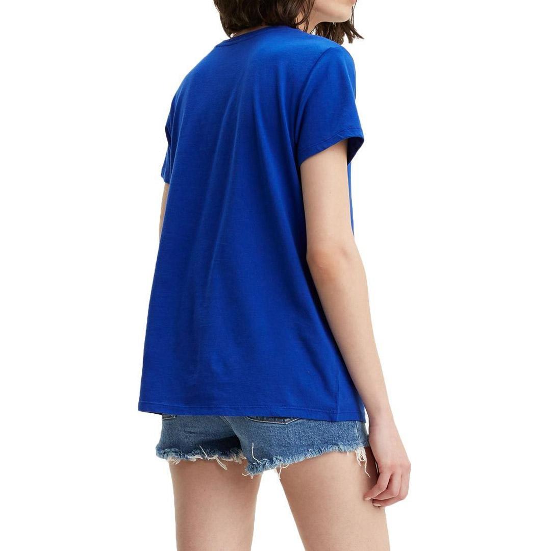 Levi's® Housemark Graphic Women Tee - Surf Blue (17369-0401)
