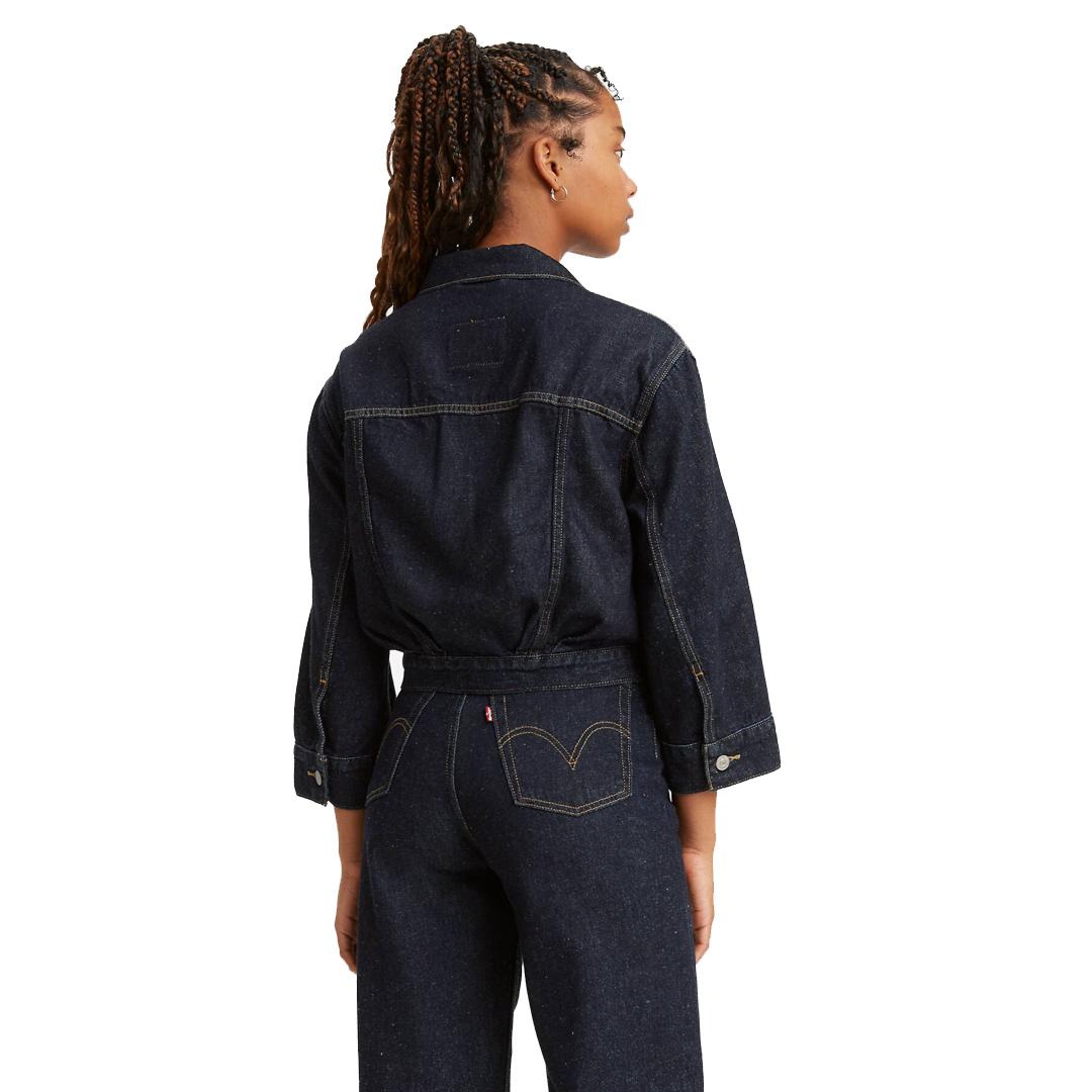 Levi's® Loose Sleeve Denim Women Jacket - Gotta Dip (22773-0003)