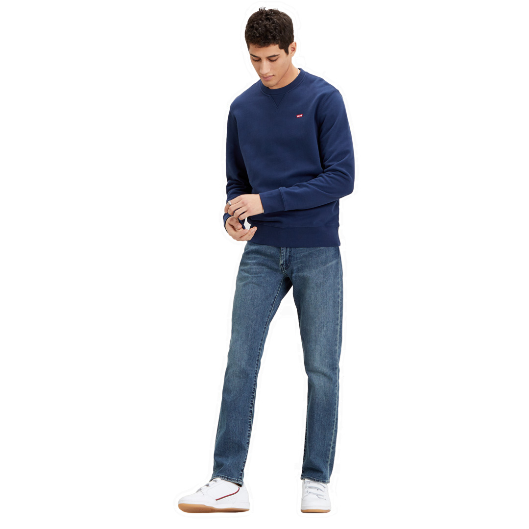 Levi's® New Original Crew Μen Sweat - Dress Blue (35909-0001)