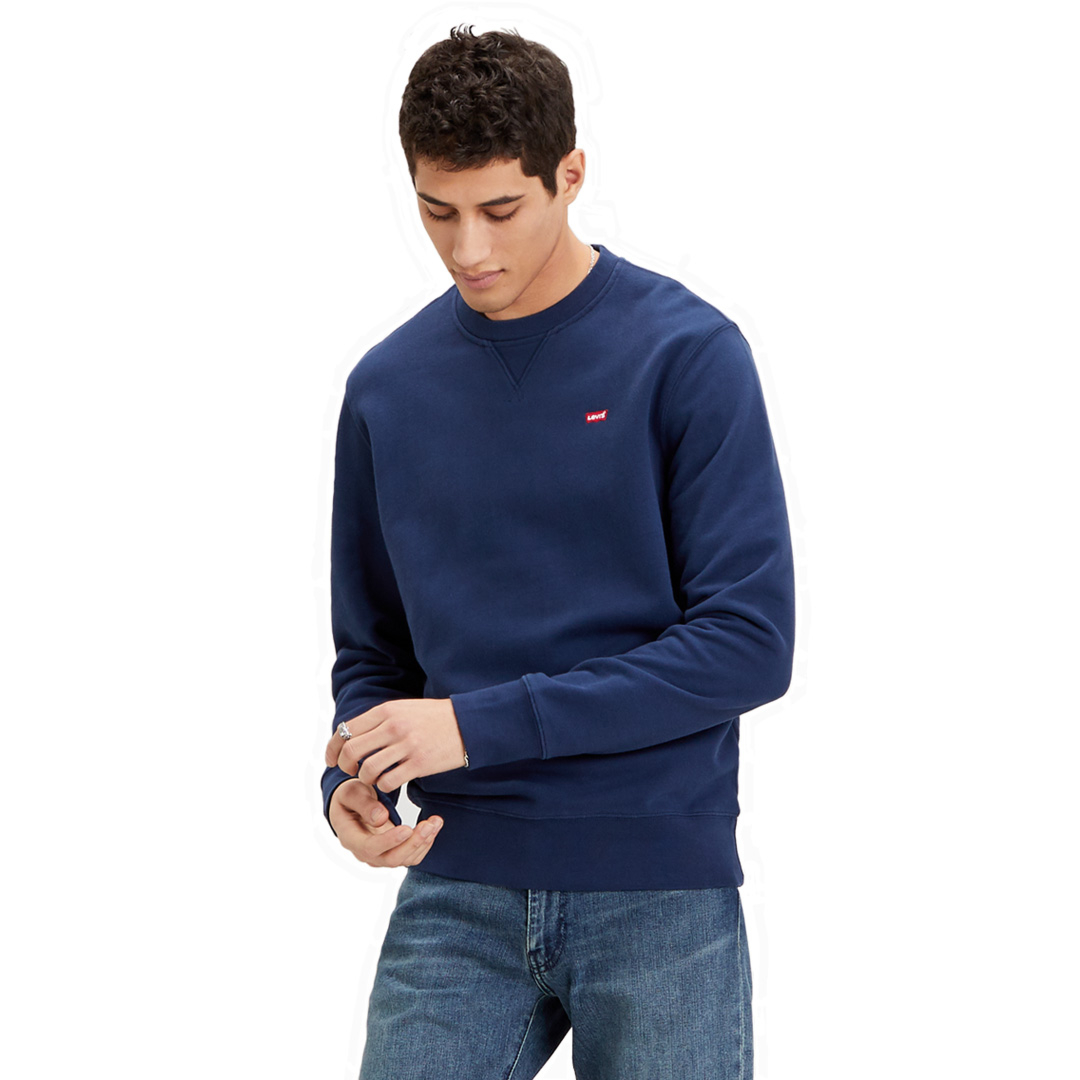Levi's® New Original Crew Sweat - Dress Blue (35909-0001)