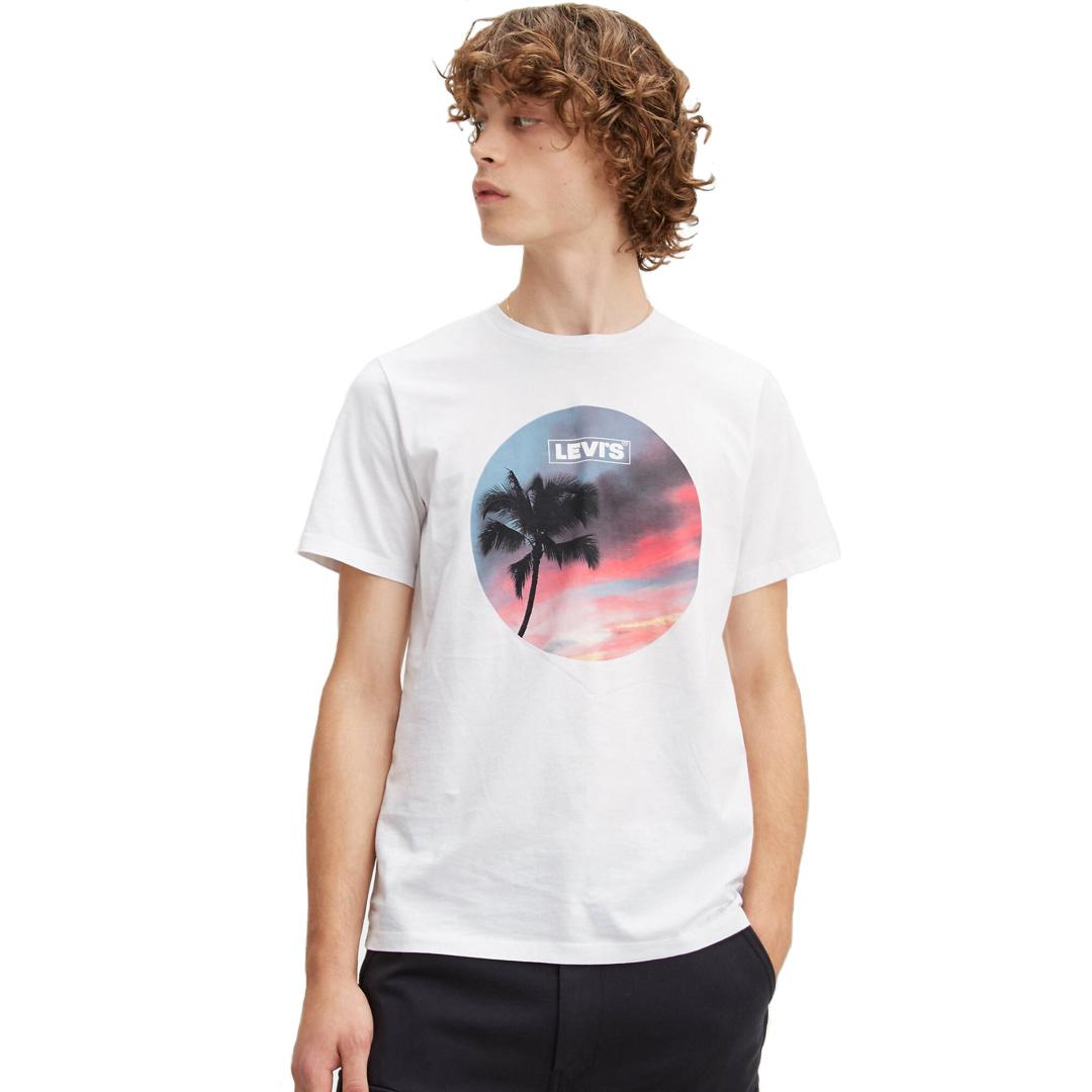Levi's® Μπλουζάκι Ανδρικό Λευκό (22491-0643)