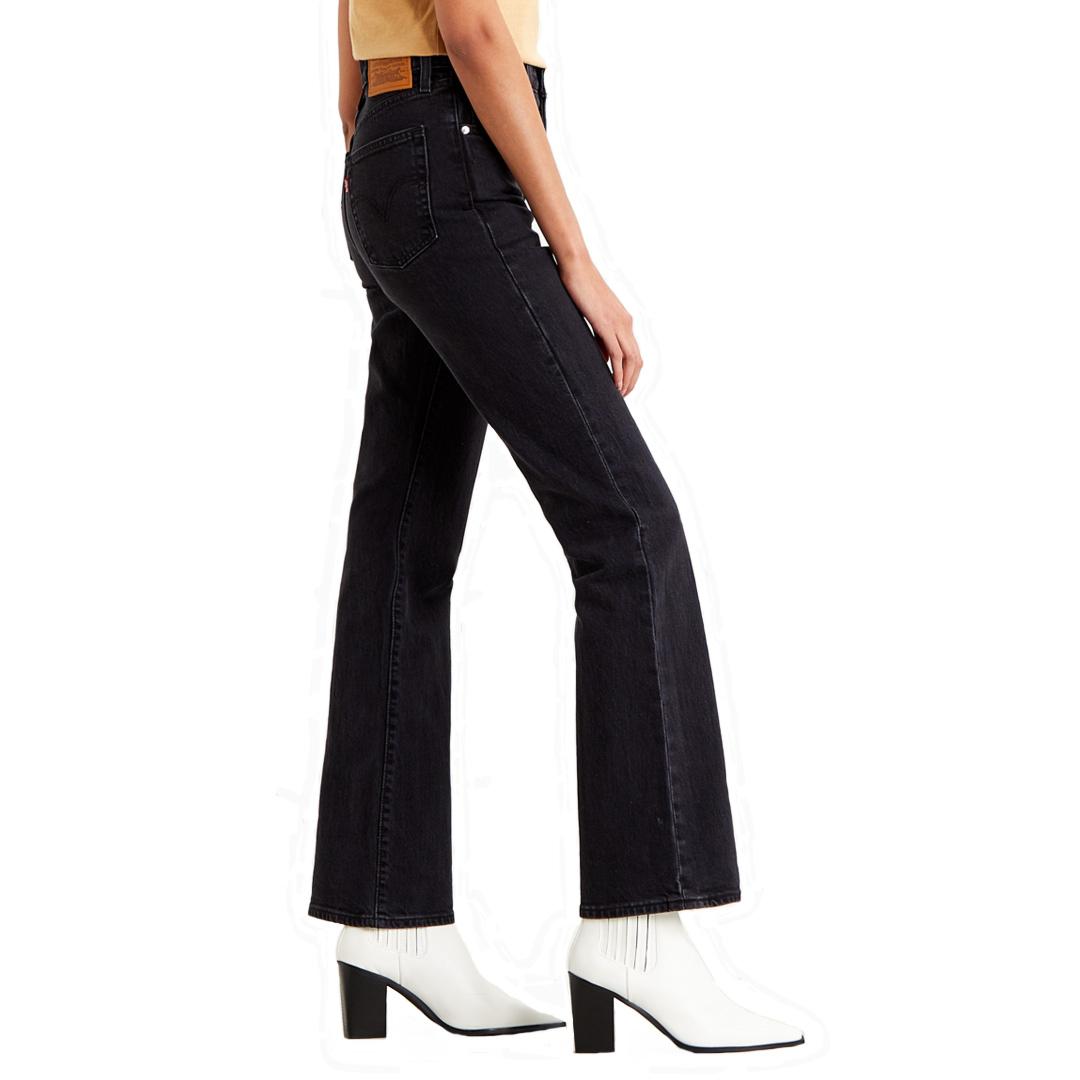 Levi's® Ribcage Bootcut Women Jeans - Black Bayou (36934-0003)