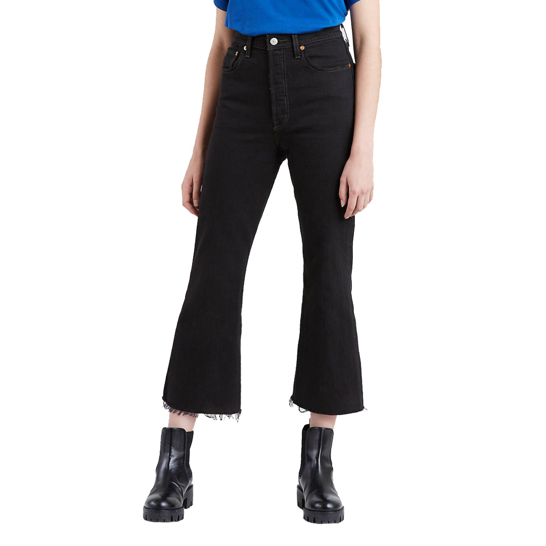 Levi's® Ribcage Crop Flare Jeans - On The Rocks (77876-0000)