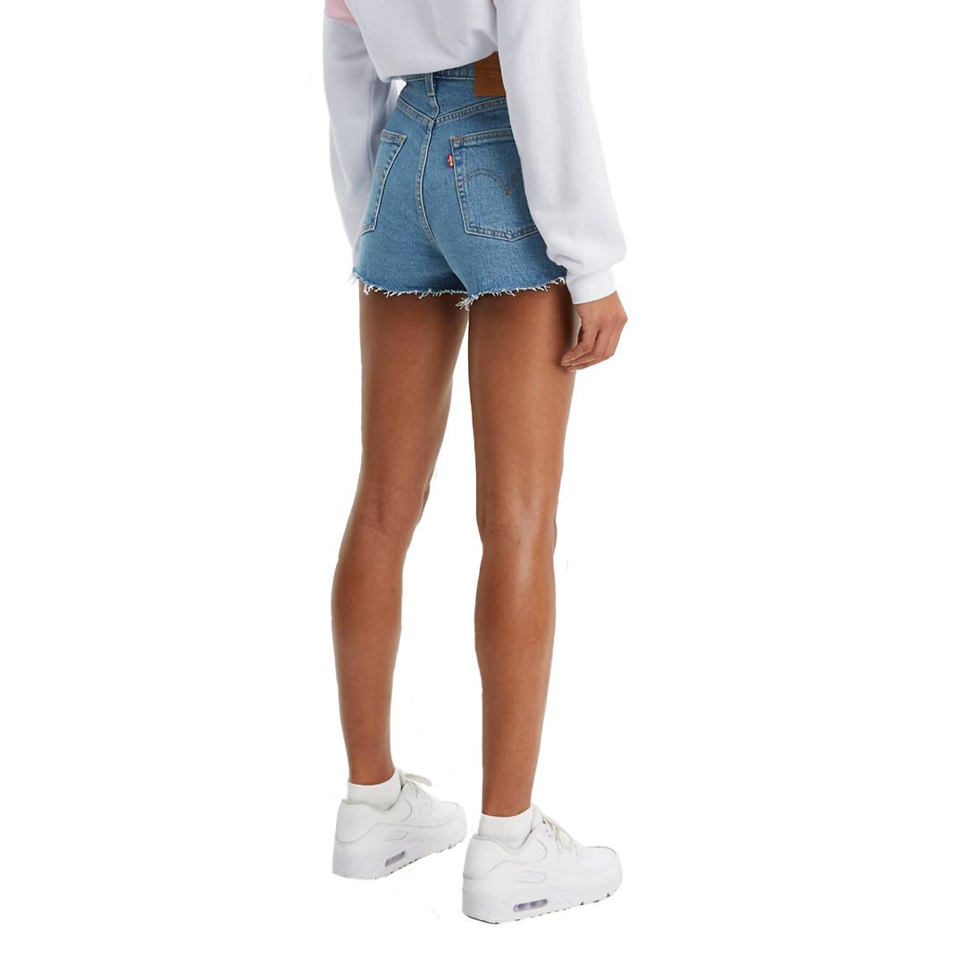 Levi's® Ribcage Denim Shorts - Tango Stonewash (77879-0005)
