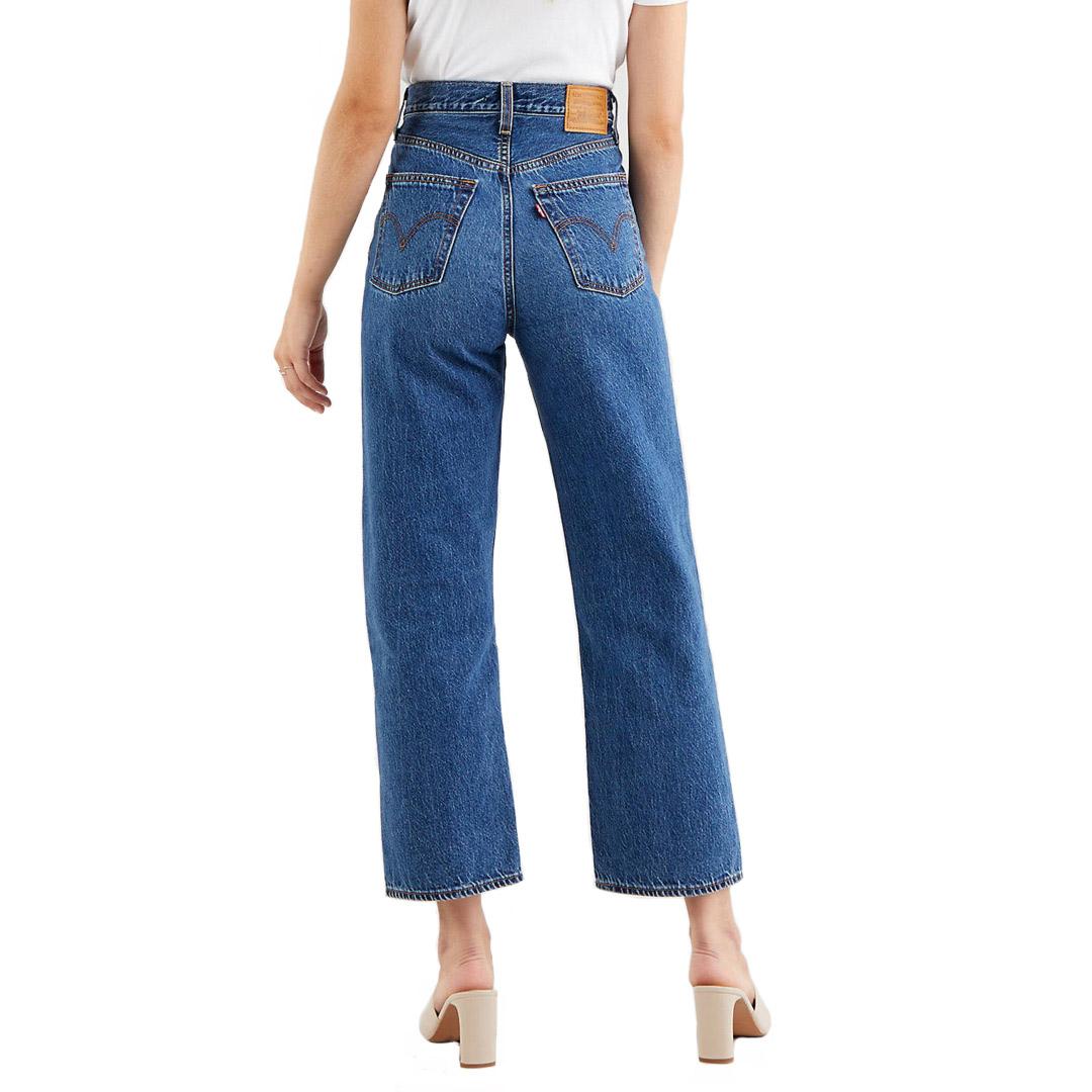 Levi's® Ribcage Straight Ankle Women Jeans - Noe Fog (72693-0079)