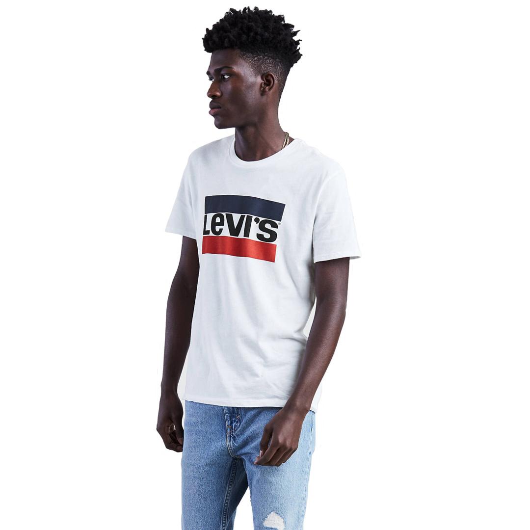 Levi's® Sportswear Logo Tee - White (39636-0000)