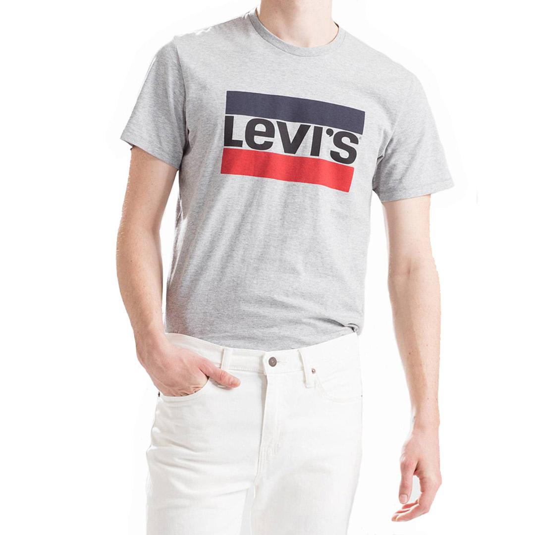 Levi's® Μπλουζάκι Ανδρικό Λογότυπο Γκρι (39636-0002)