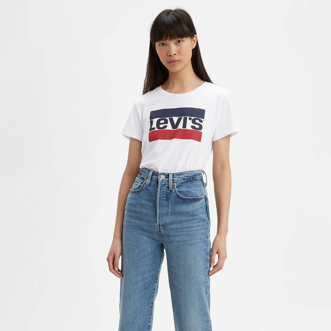 Levi's® Μπλουζάκι Γυναικείο Λευκό (17369-0297)