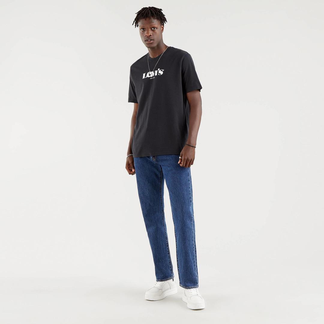 Levi's® SSNL Logo Relaxed Men T-Shirt Caviar (16143-0084)