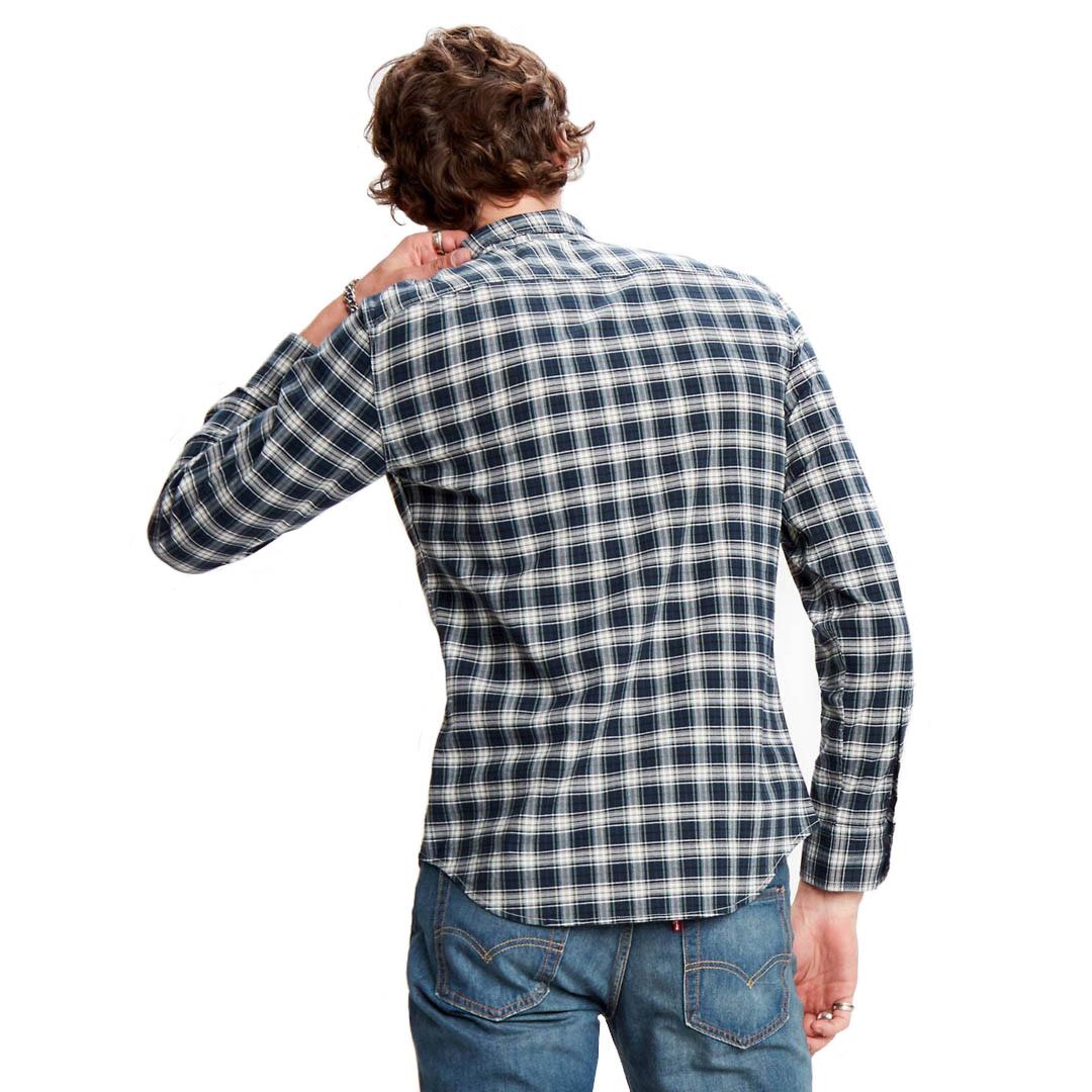 Levi's® Sunset 1 Pkt Men Shirt Antonio - Mineral Black (86619-0013)