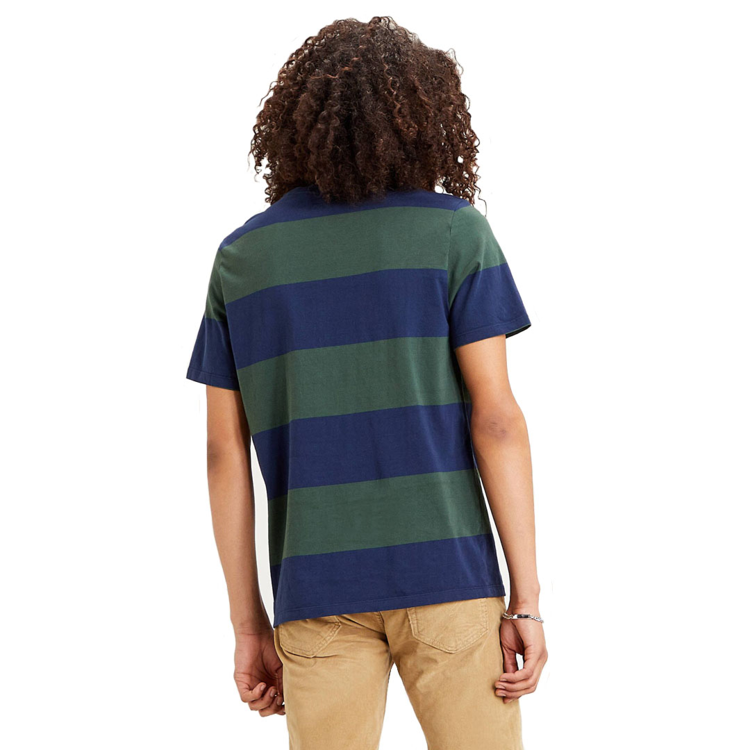 Levi's® The Original HM Men Tee Rugby Stripe - Dress Blue (56605-0058)