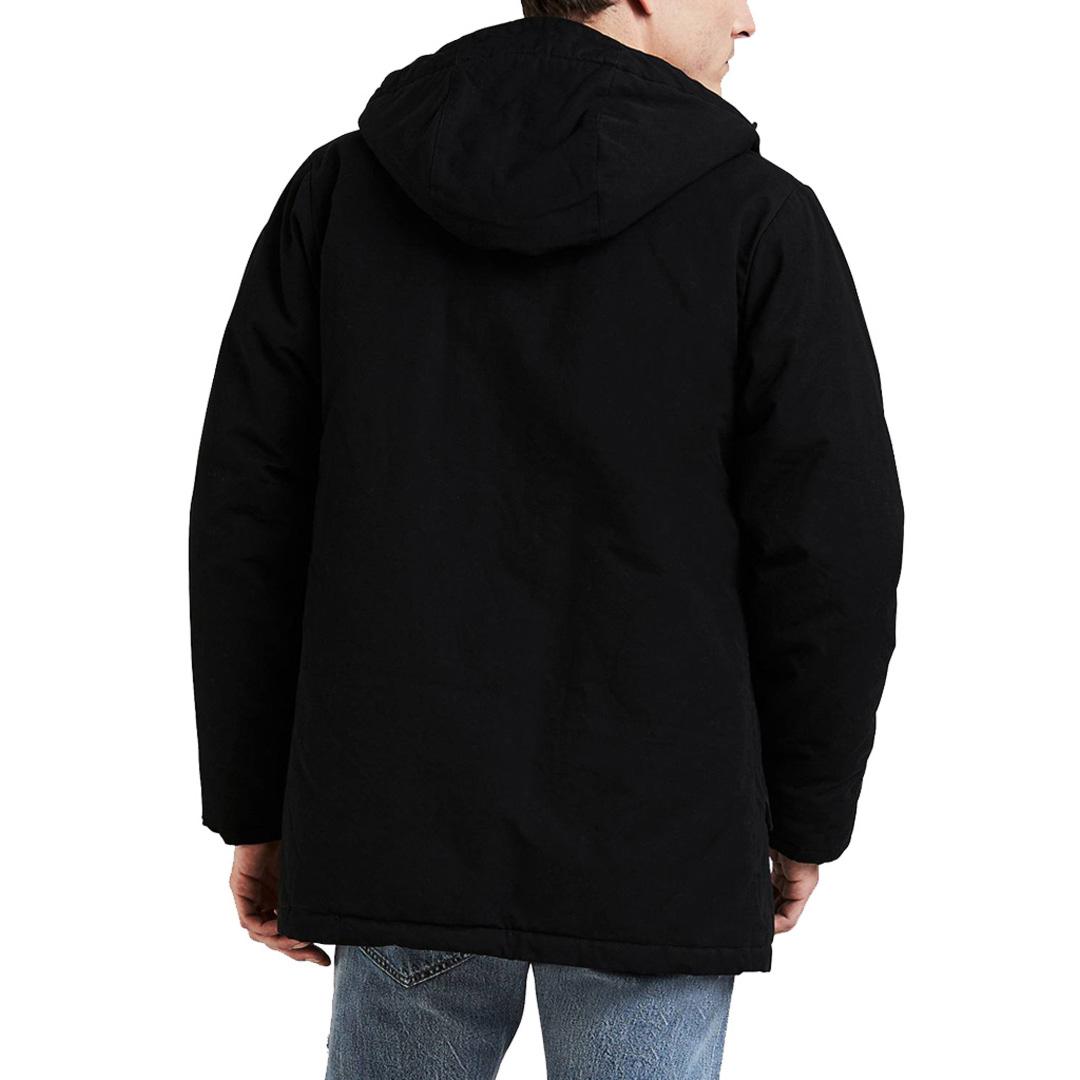 Levi's® Thermore Padded Parka Men - Black (56578-0000)