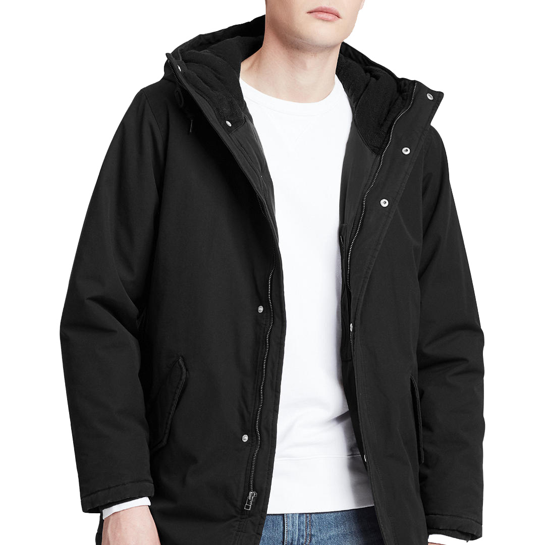Levi's® Thermore Padded Men Parka - Caviar (56578-0003)