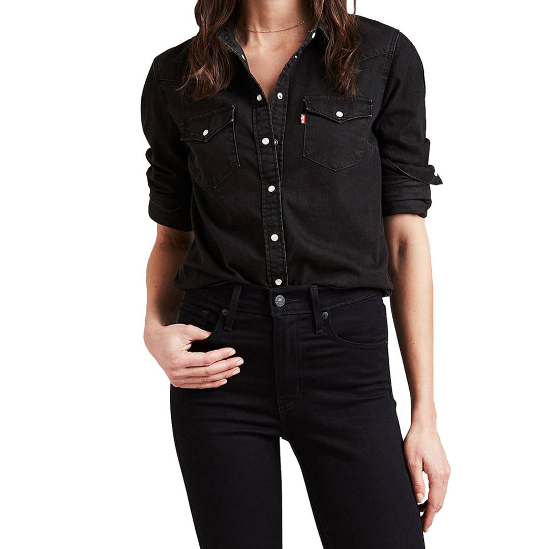 Levi's® Ultimate Western Denim Shirt - Shinny Happy People (58930-0002)