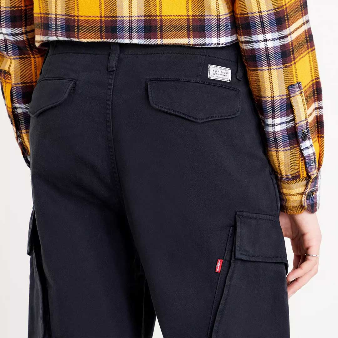 Levi's® XX Cargo™ II Taper - Jet Black (label pockets)
