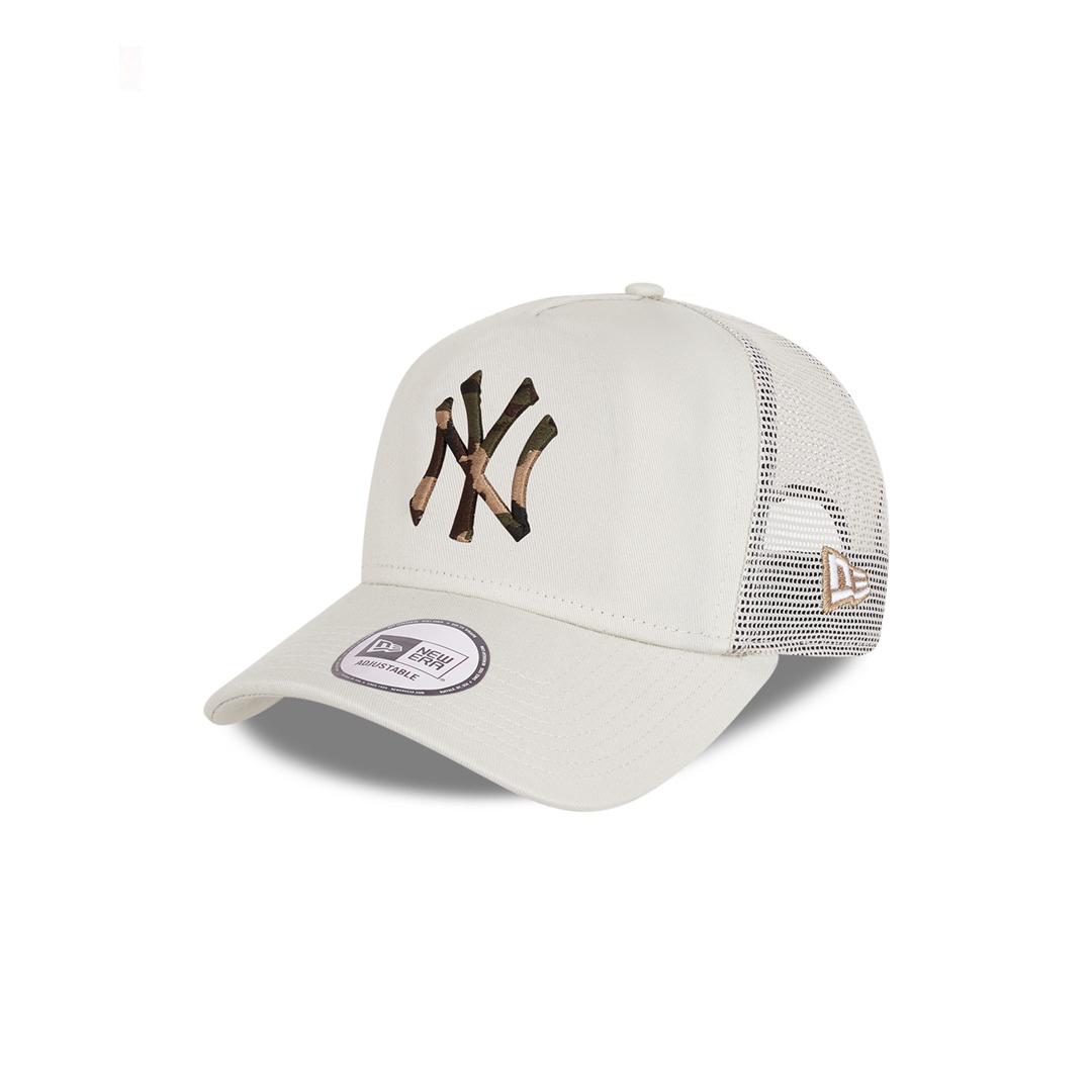 NEW ERA Camo Infill NY Yankees Trucker - Light Grey (60112692)