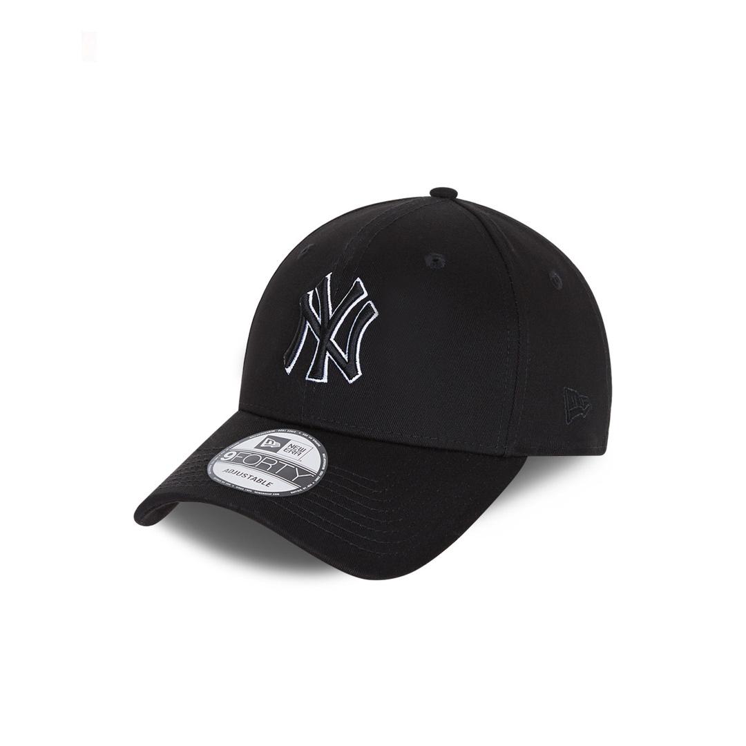 NEW ERA NY Yankees Black Base 9Forty Cap (60112644)