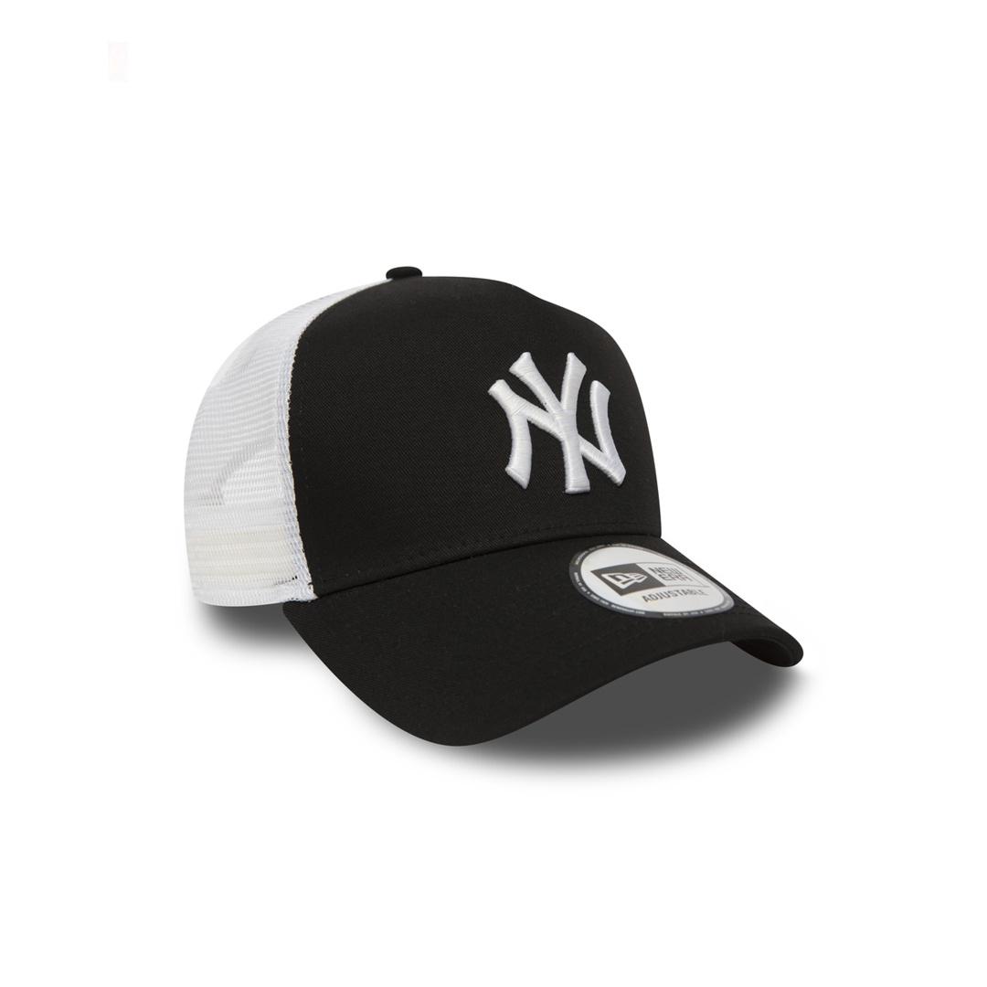 NEW ERA NY Yankees Clean Unisex Trucker - Black/ White (11588491)