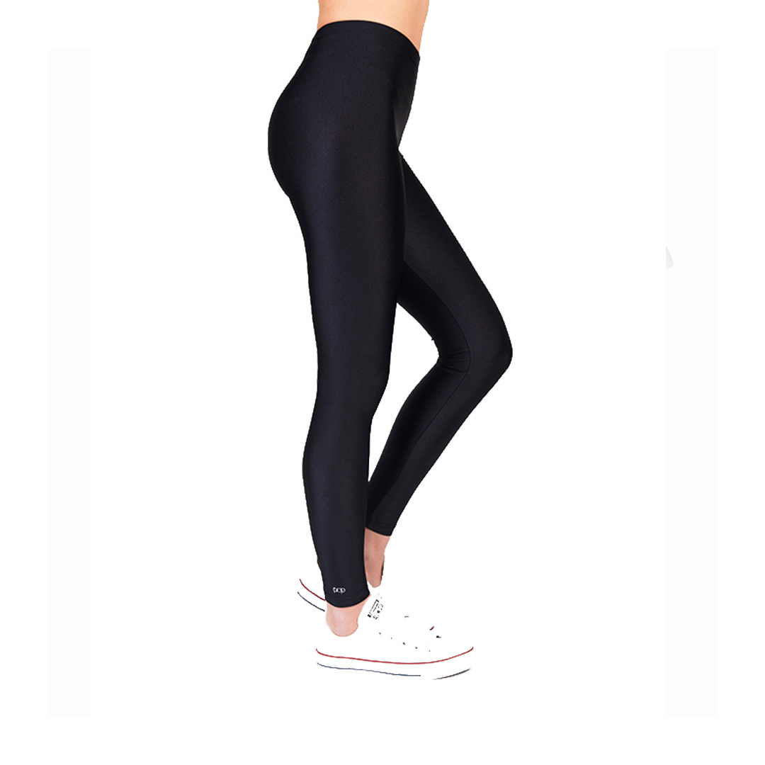 PCP Leggings Black Shiny (front)
