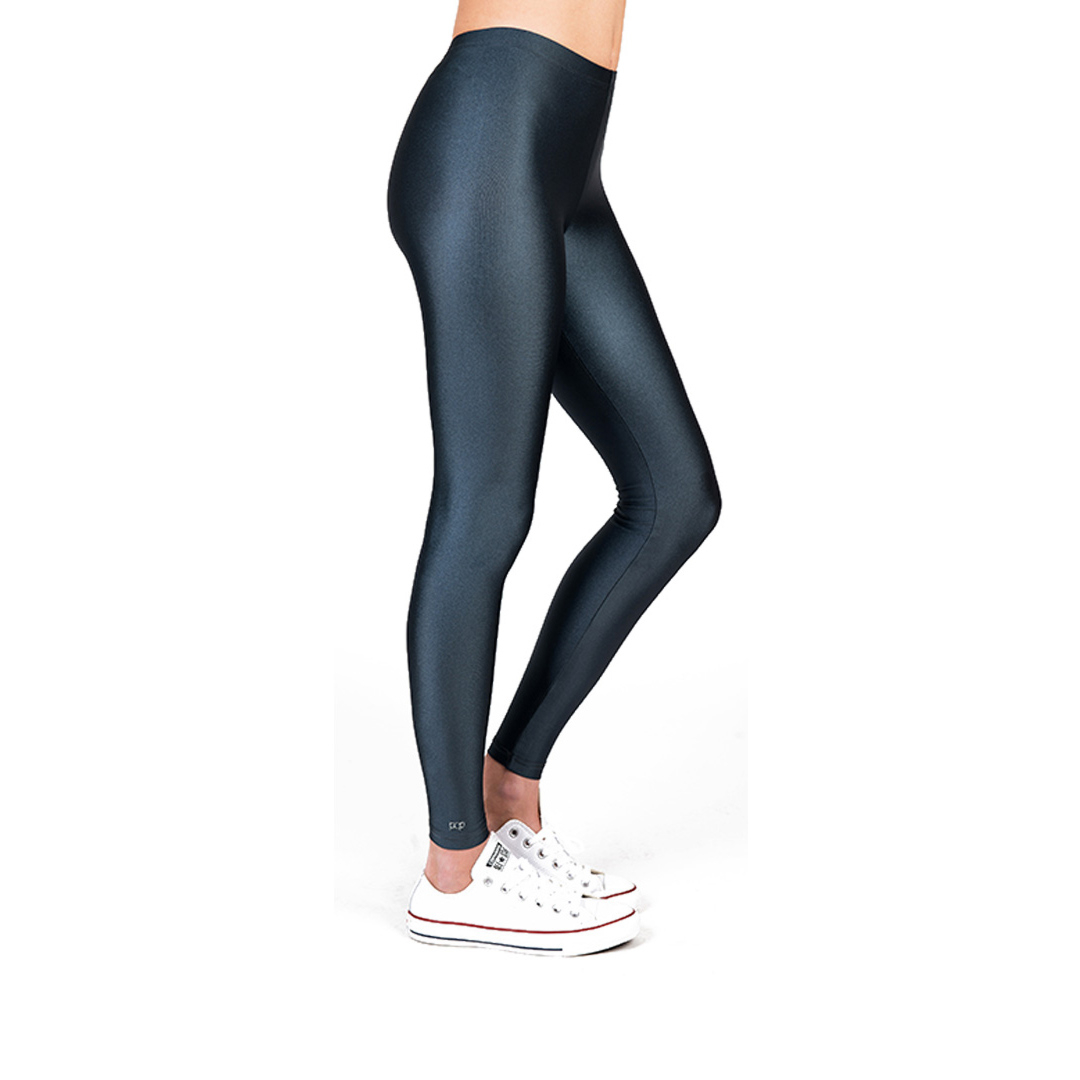 PCP Leggings Coal Shiny (front)