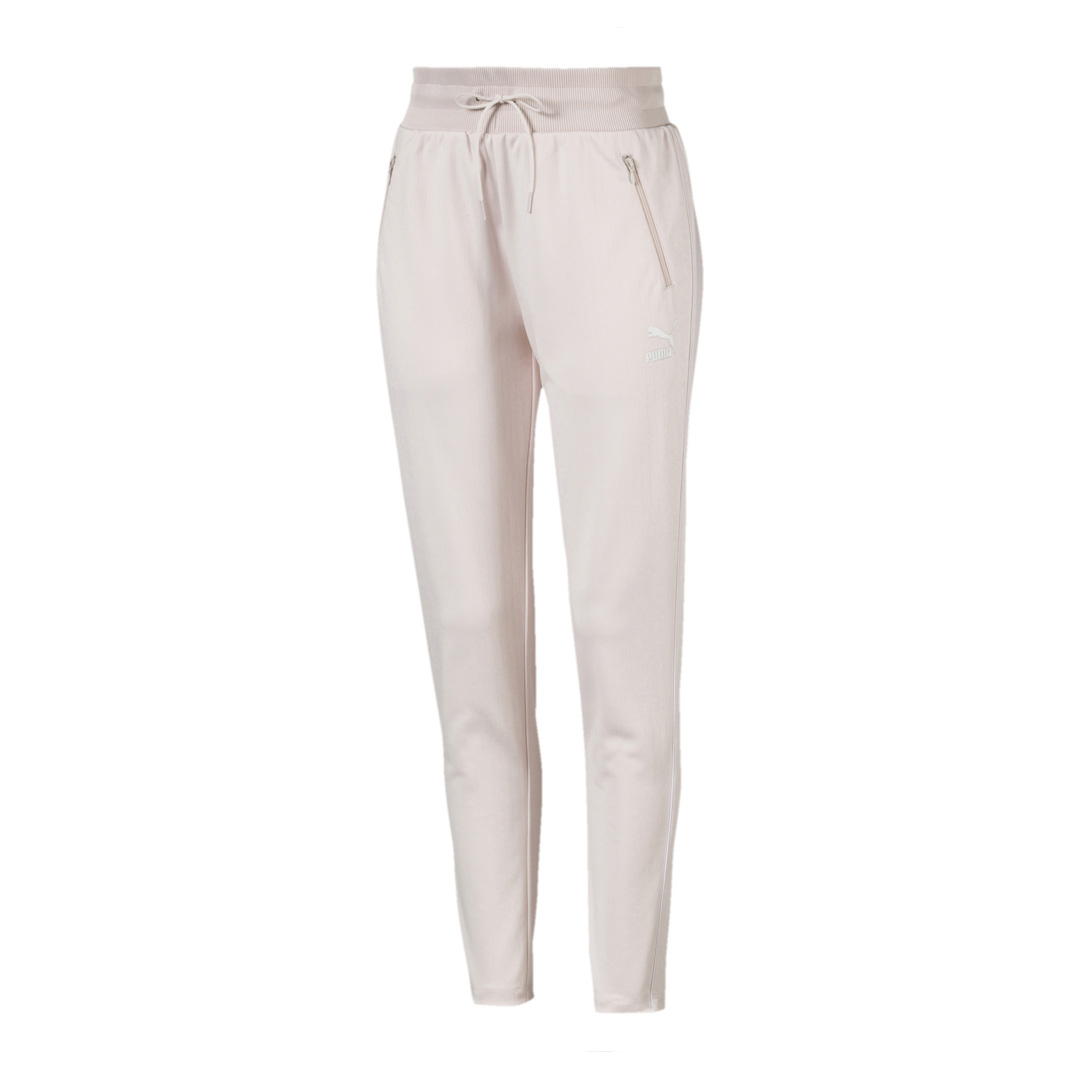 PUMA Classics Poly Track Pants - Pastel Parchment (595211-23)