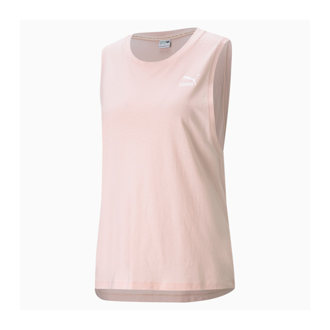 PUMA Classics Αμάνικο Μπλουζάκι Γυναικείο Ροζ (530850-27)