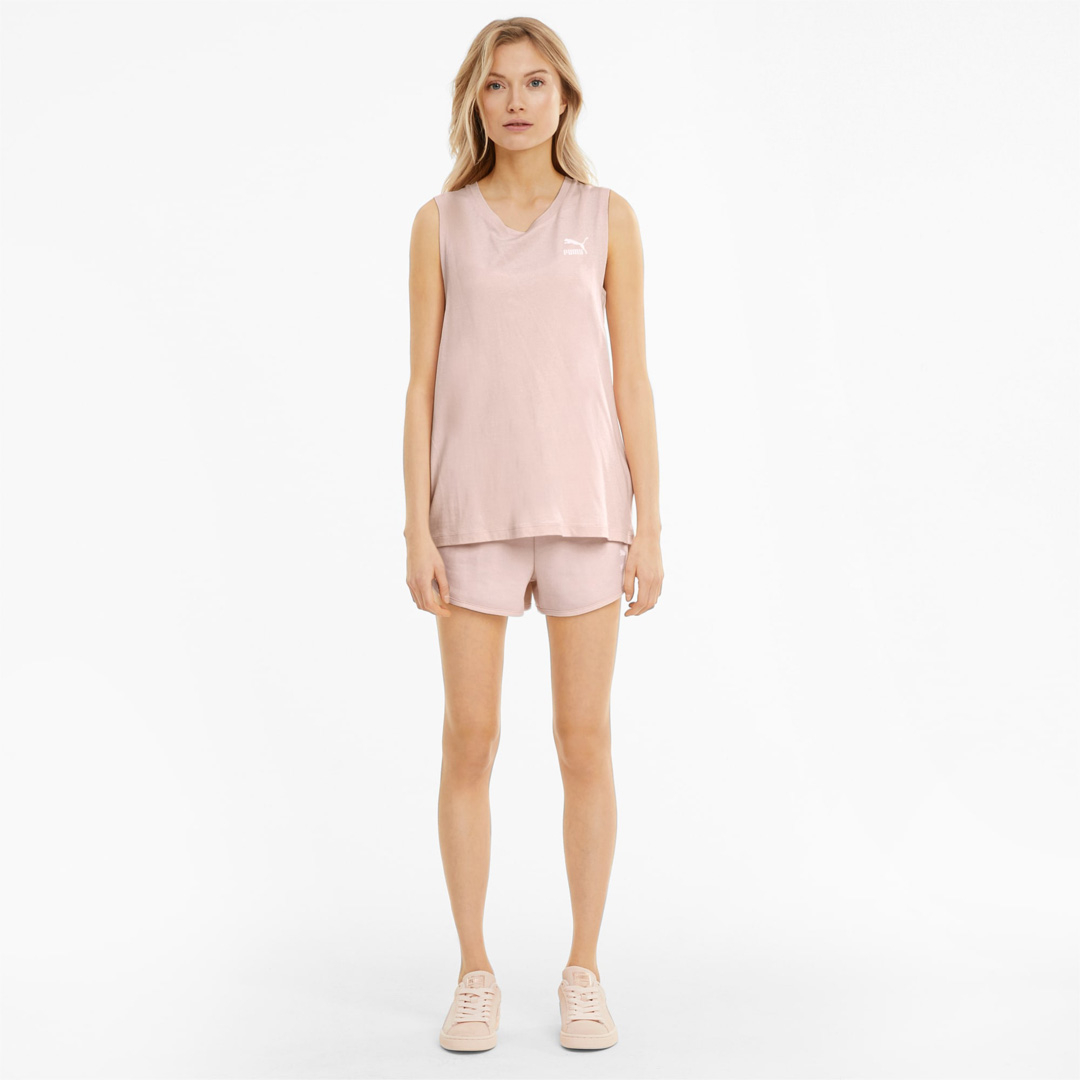 PUMA Classics Μπλουζάκι Αμάνικο Γυναικείο Ροζ (530850-27)