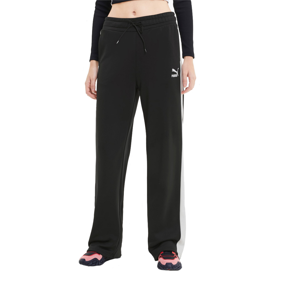 PUMA Classics Wide Leg Women Pants - Black (598854-01)