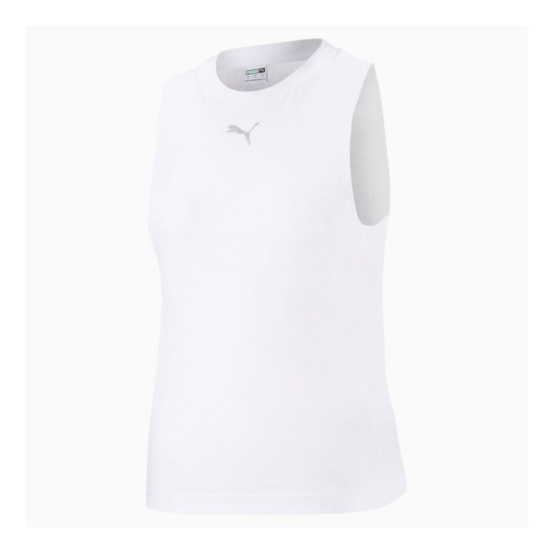 PUMA Evide Γυναικείο Τιραντάκι Τρυπητό Λευκό (599773-02)