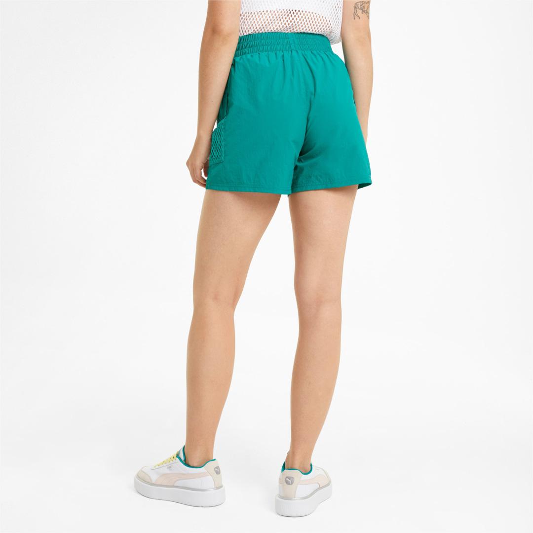 PUMA Evide Women Nylon Shorts in Parasalling (599775-61)