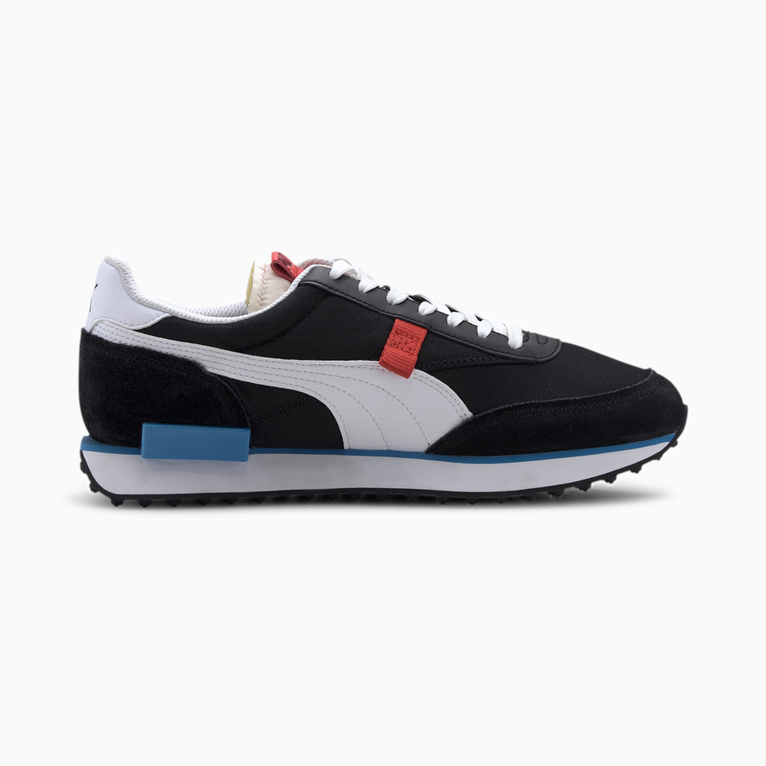 PUMA Future Rider Play On Αθλητικά Παπούτσια - Black/ White (371149-14)