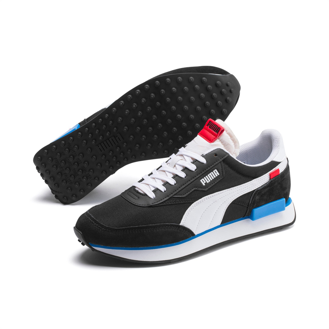PUMA Future Rider Play On Trainers - Black/ White (371149-14)