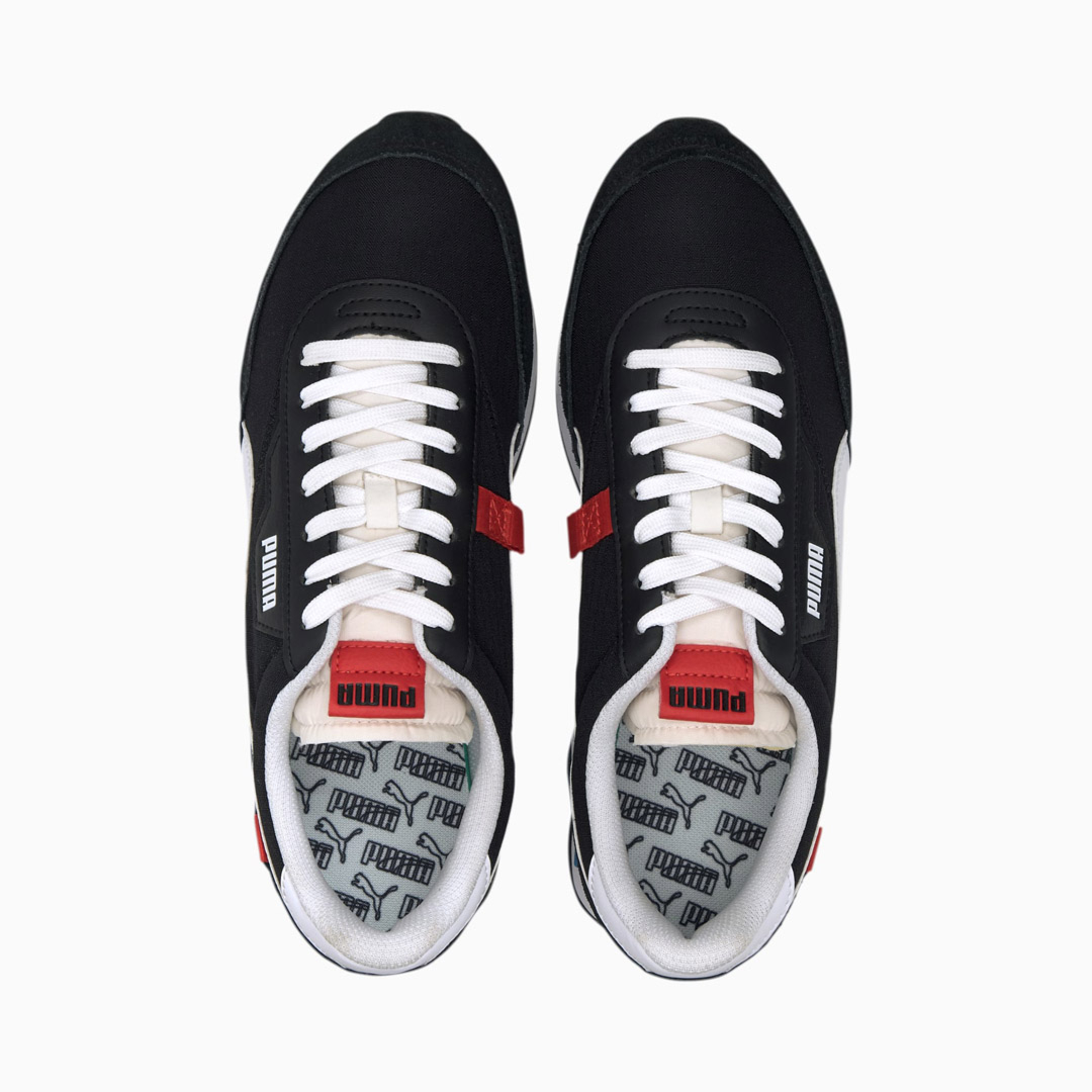 PUMA Future Rider Play On Παπούτσια - Black/ White (371149-14)