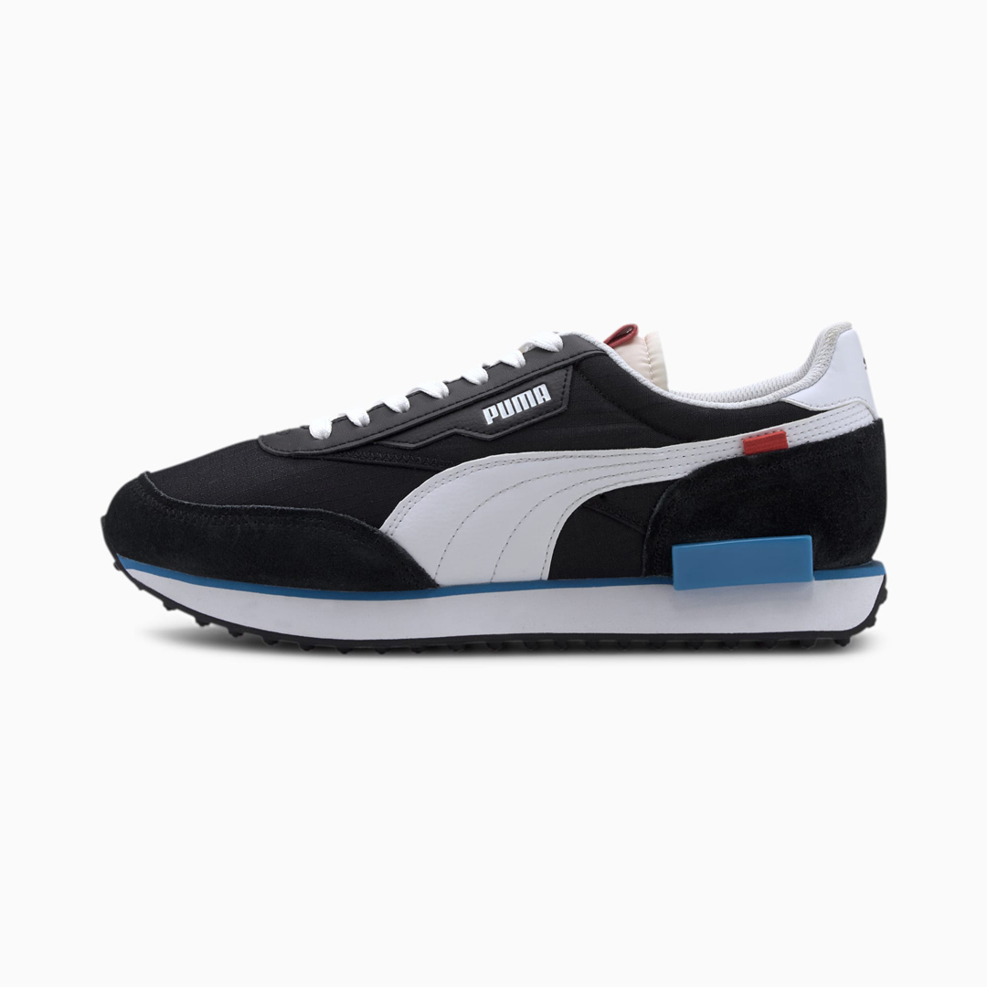 PUMA Future Rider Play On Sneakers - Black/ White (371149-14)