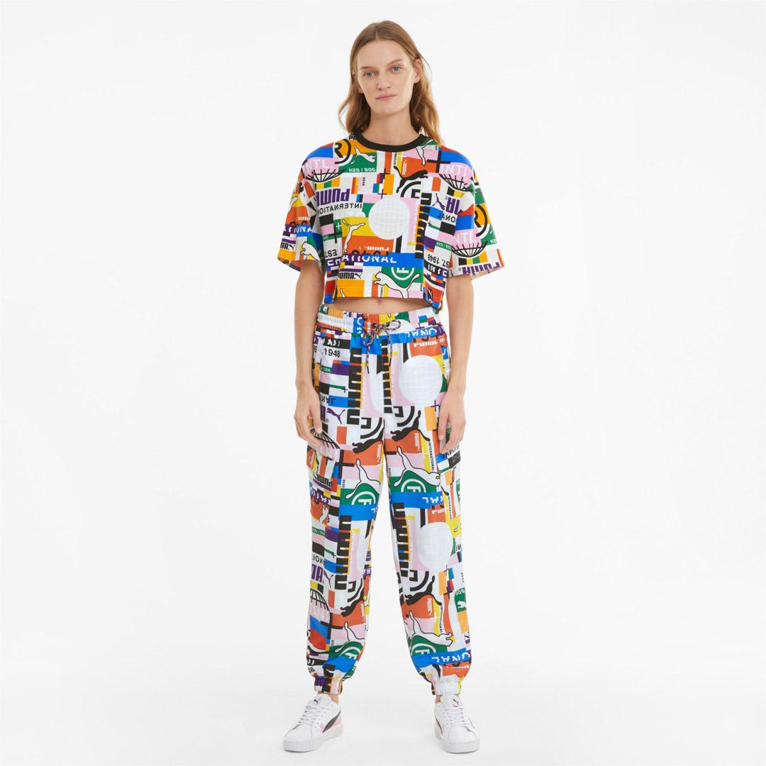 PUMA Πολύχρωμο Γυναικείο Μπλουζάκι (530740-02)
