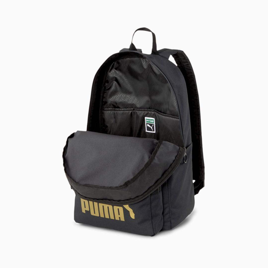 Puma Originals Τσαντα Πλάτης - Μαυρο (077353-01)