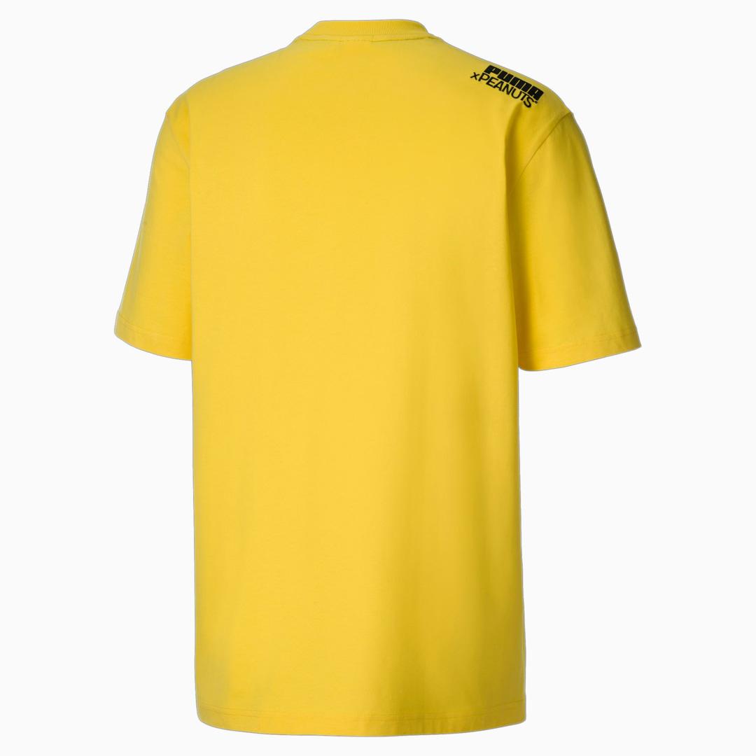 PUMA x Peanuts Men T-Shirt in Maize (530616-37)