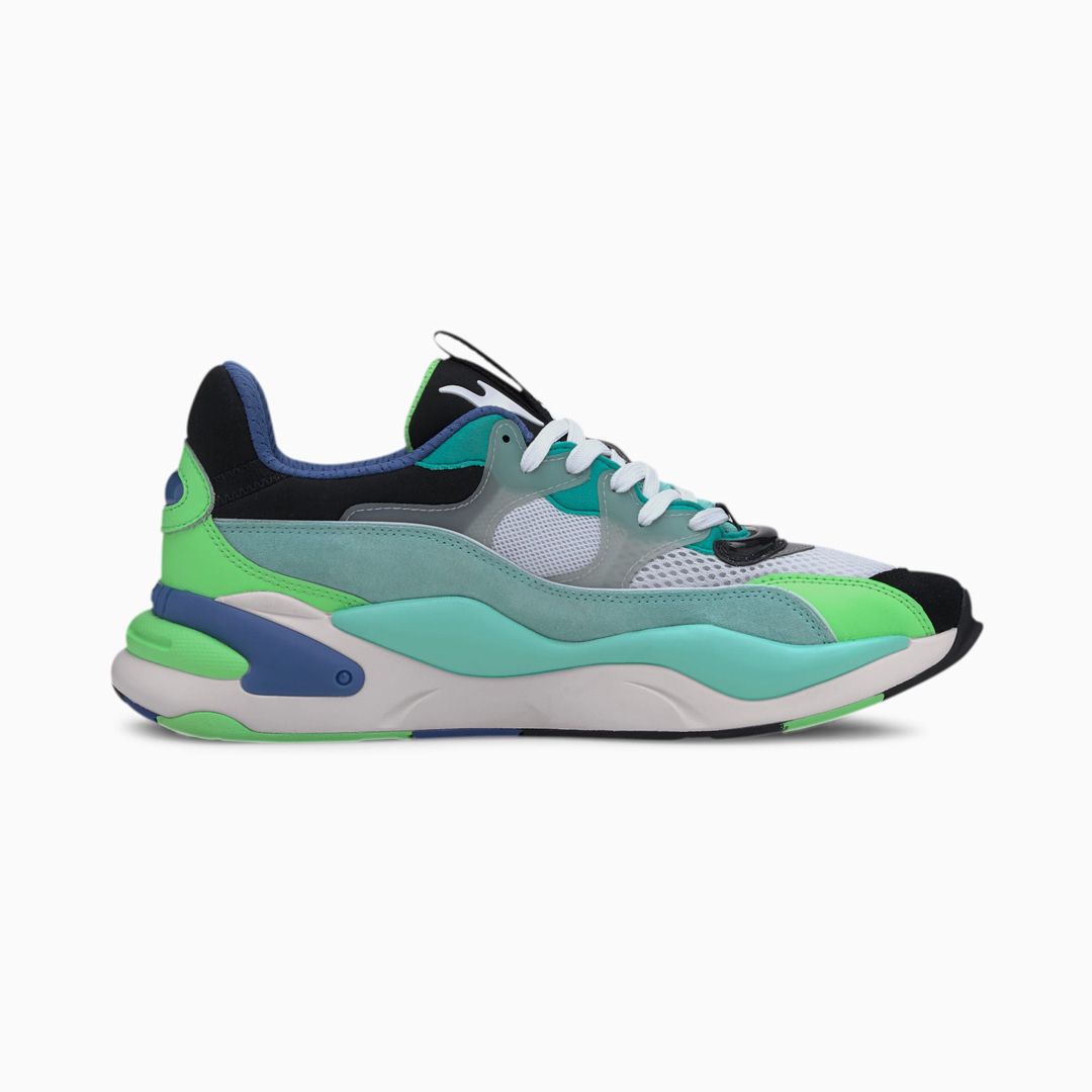 PUMA RS-2K Internet Exploring Παπούτσια Αθλητικά - Black/ Aruba Blue (373309-01)