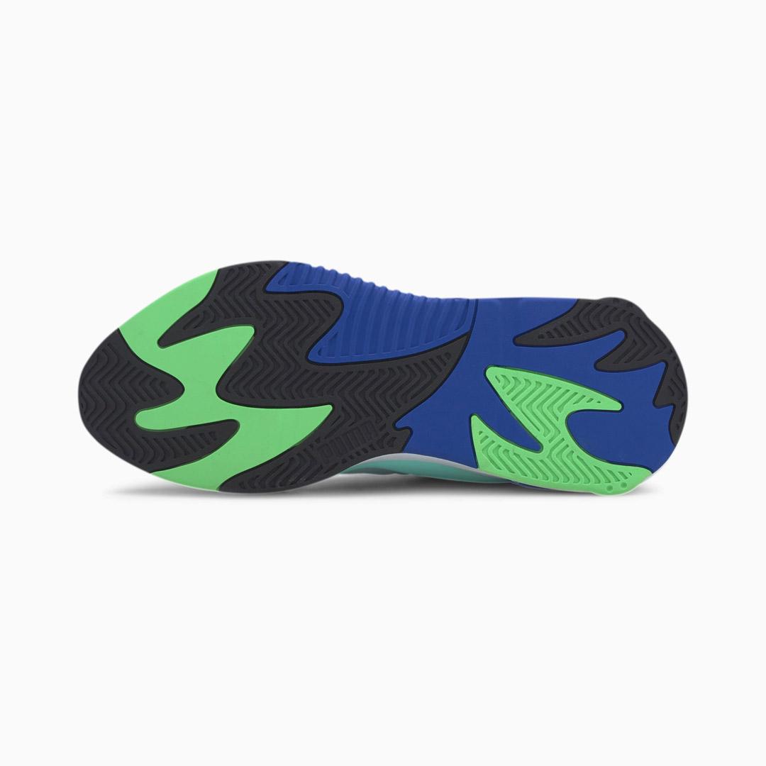 PUMA RS-2K Internet Exploring Sneakers - Black/ Aruba Blue (sole)