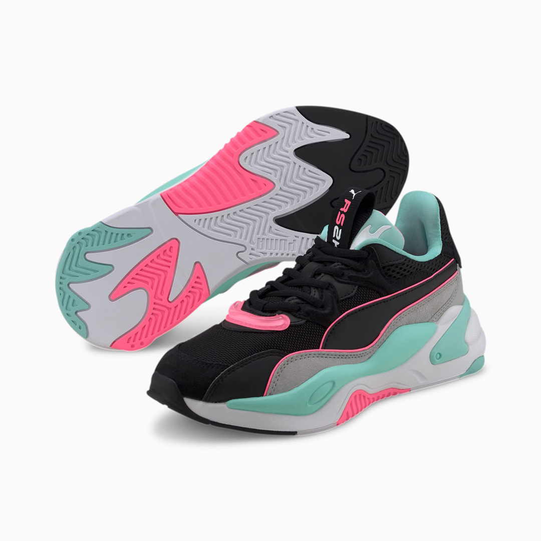 PUMA RS-2K Messaging Wn's Sneakers - Black/ High Rise (372975-04)