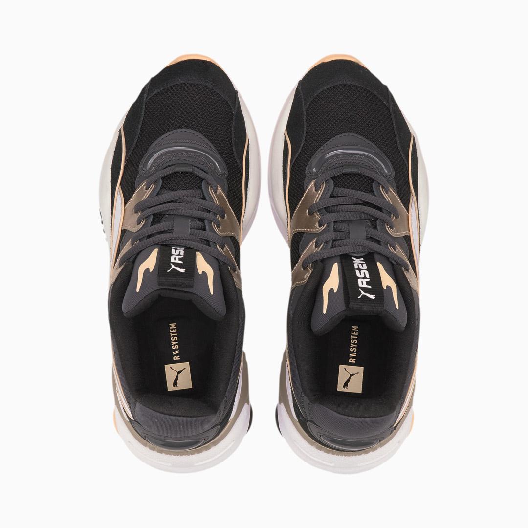 PUMA RS-2K Soft Metal Αθλητικά Παπούτσια - Black/ Ebony (374666-02)