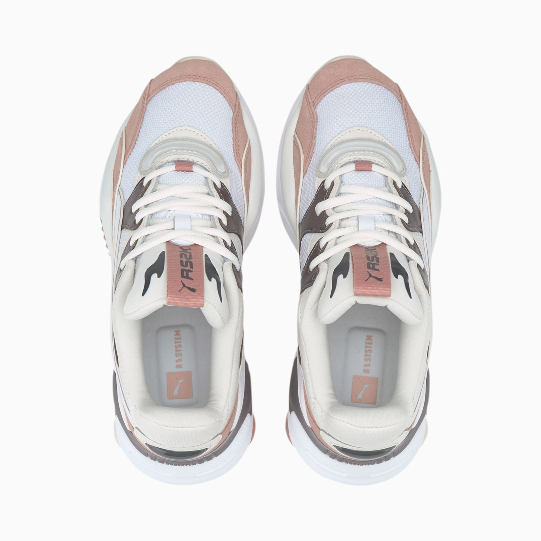 PUMA RS-2K Soft Metal Women Shoes - Vaporous Gray/ Misty Rose (374666-01)
