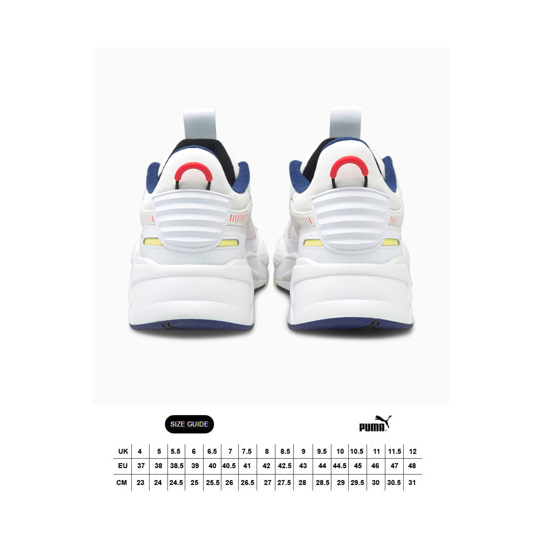 PUMA RS-X Decor8 Sneakers - White (size guide)
