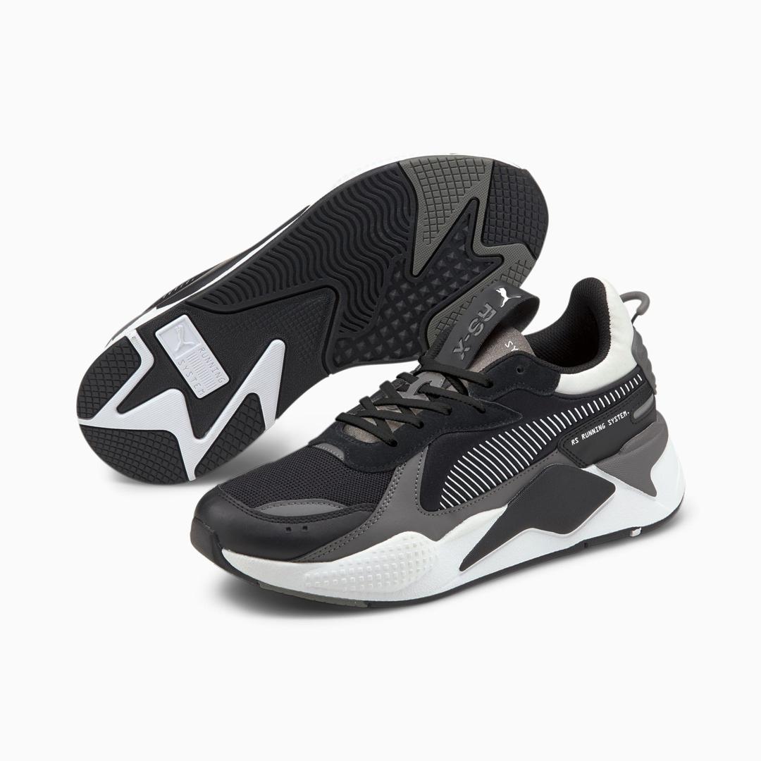 PUMA RS-X Mix Men Sneakers - Black/ Castlerock (380462-03)