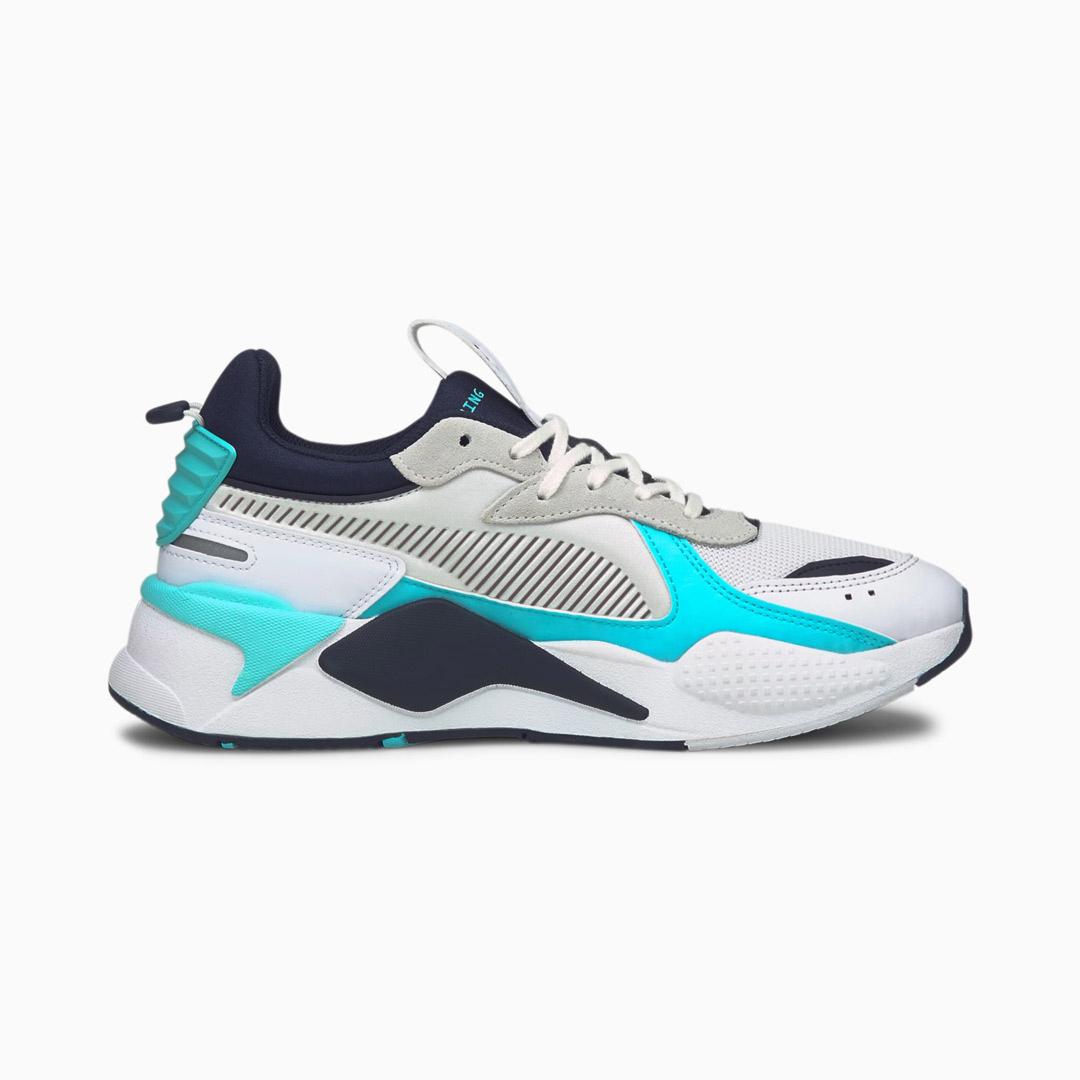PUMA RS-X Mix Αθλητικά Παπούτσια Λευκό/ Μπλε (380462-02)